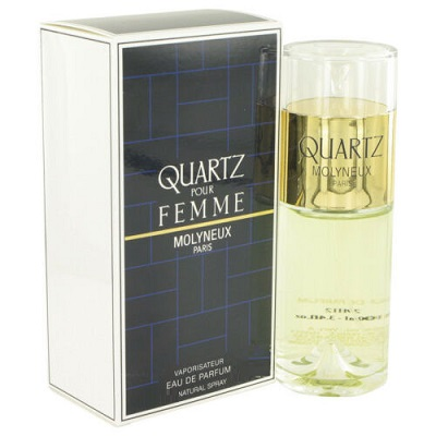 Quartz Perfume by Molyneux 3.3oz Eau De Parfum spray for Women