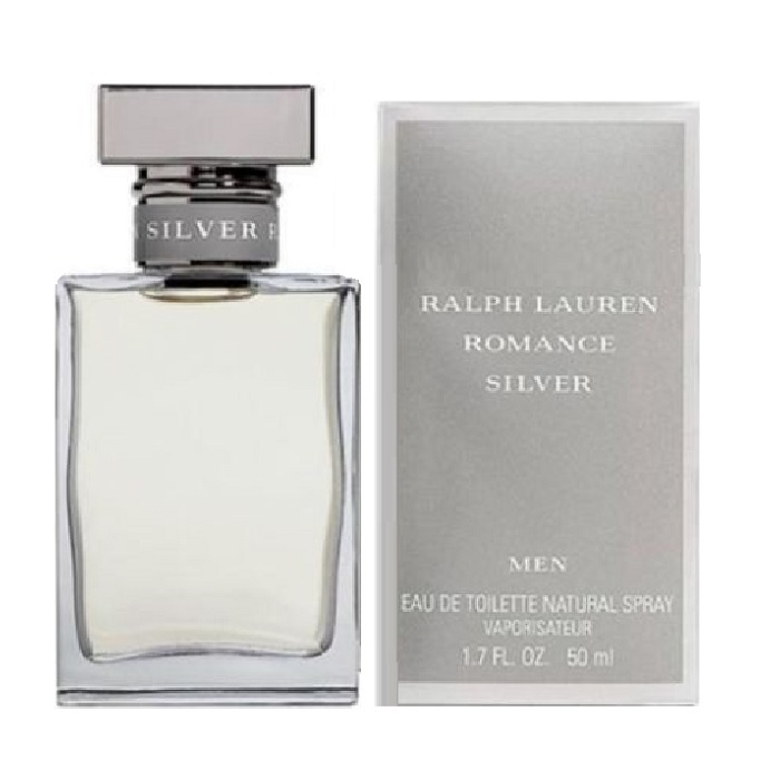 Romance Silver Cologne by Ralph Lauren 1.7oz Eau De Toilette spray for Men