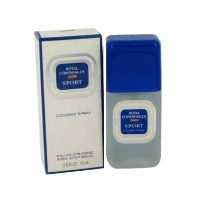 Royal Copenhagen Sport Cologne by Royal Copenhagen 1.5oz Eau De Cologne spray for Men