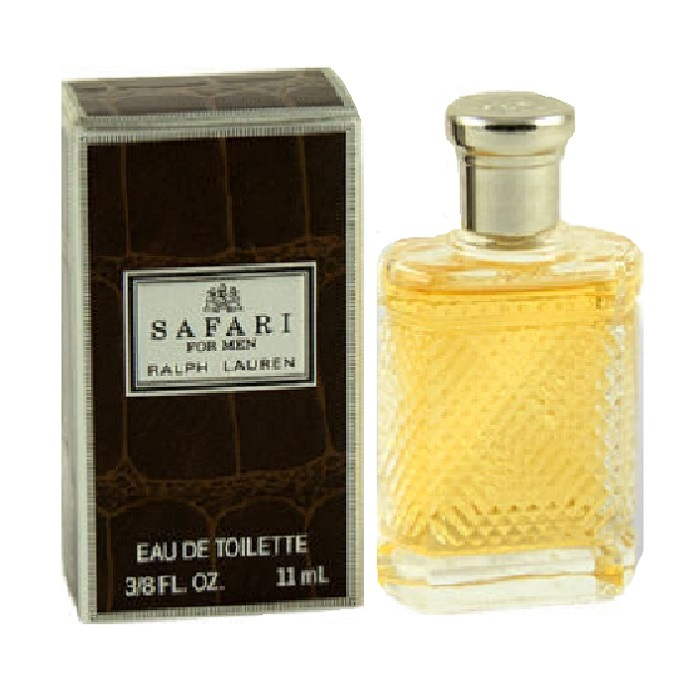 Safari Mini Cologne by Ralph Lauren 1/8oz / 11ml Eau De Toilette for Men