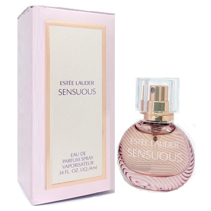 Sensuous Mini Perfume by Estee Lauder 0.14oz / 4ml Eau De Parfum for women