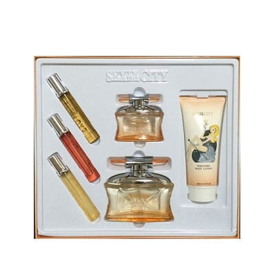 Sex In The City Seduction Naked Perfume 6 pieces Gift Set by New Style for women