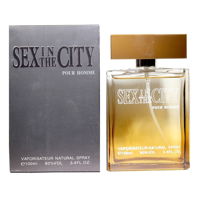 Sex in the city pour homme Cologne by Instyle 3.4oz Cologne spray for men