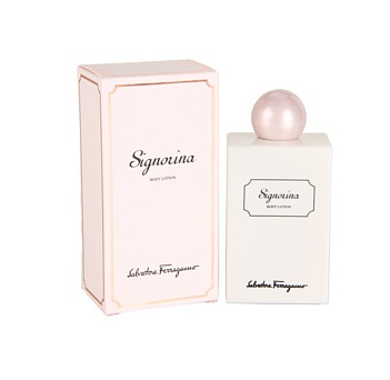 Signorina Body Lotion by Salvatore Ferragamo 6.8oz for women