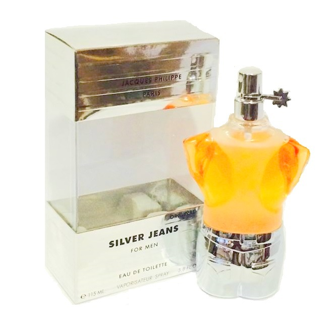Silver Jeans Cologne by Jacques Philippe 3.3oz Eau De Toilette spray for Men