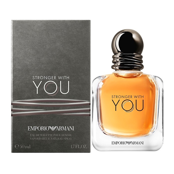 Stronger With You Perfume by Emporio Armani 1.7oz Eau De Toilette spray for men
