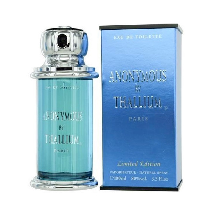 Thallium Anonymous Cologne by Yves De Sistelle 3.3oz Eau De Toilette spray for Men