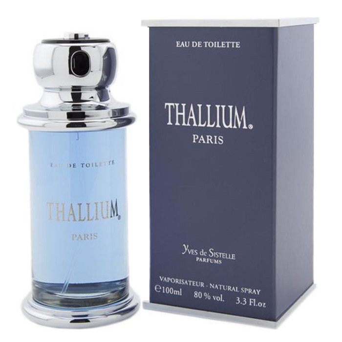 Thallium Cologne by Yves de Sistelle 3.3oz Eau De Toilette Spray for men