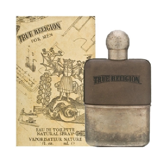 True Religion Cologne by True Religion 3.4oz Eau De Toilette spray for Men