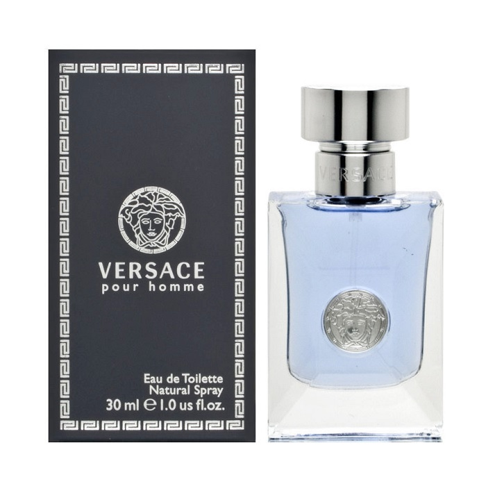 Versace Pour Homme Cologne by Versace 1.0oz Eau De Toilette spray for men