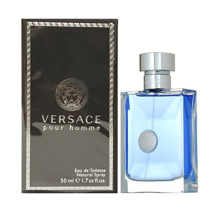 Versace Pour Homme Cologne by Versace 1.7oz Eau De Toilette spray for men