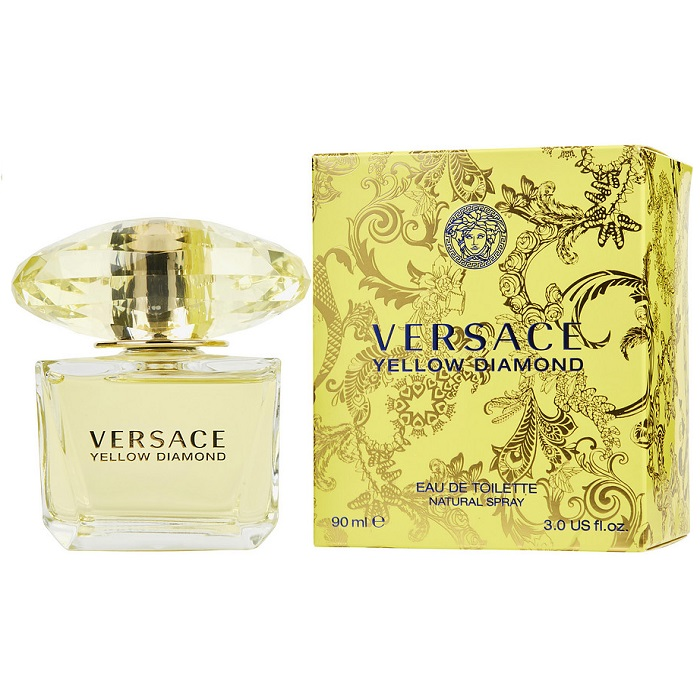 Versace Yellow Diamond Perfume by Versace 3.0oz Eau De Toilette Spray for women