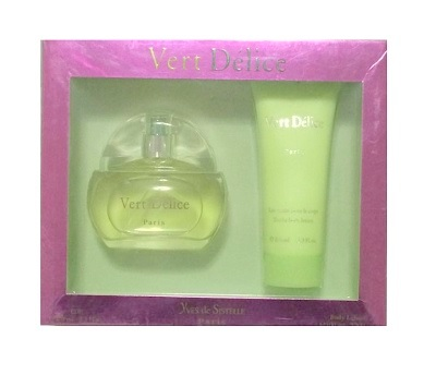 Vert Delice Perfume Gift Sets - 3.3oz Eau De Parfum Spray & 3.3oz Body Lotion