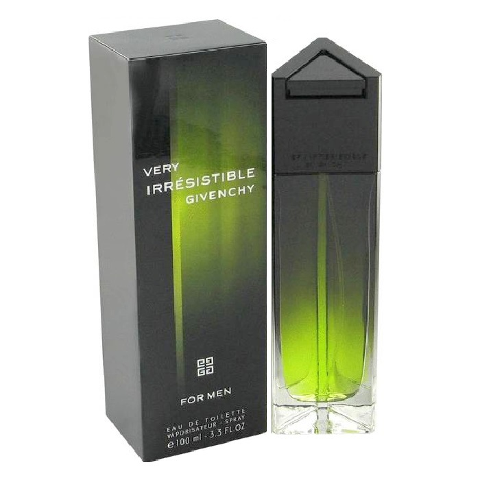 Very Irresistible Cologne by Givenchy 3.3oz Eau De Toilette spray for Men