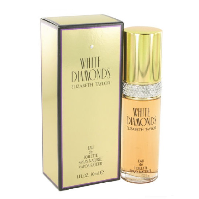 White Diamonds Perfume by Elizabeth Taylor 1.0oz Eau De Toilette spray for women