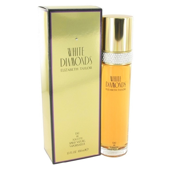 White Diamonds Perfume by Elizabeth Taylor 3.4oz Eau De Toilette spray for women