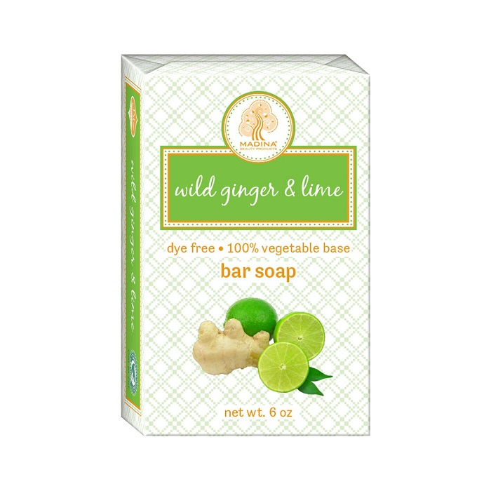 Wild Ginger & Lime 6oz Bar Soap