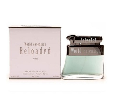 World Extension Reloaded Cologne by Geparlys 3.4oz Eau De Toilette spray for Men