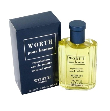 Worth pour Homme Cologne by Worth 3.3oz Eau De Toilette spray for Men