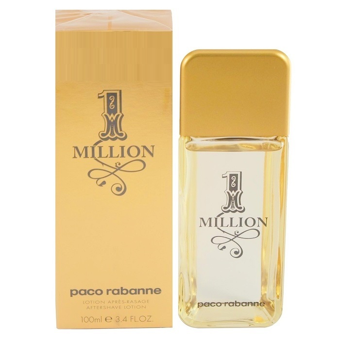 1 Million After Shave Lotion (Liquid) by Paco Rabanne 3.3oz for men