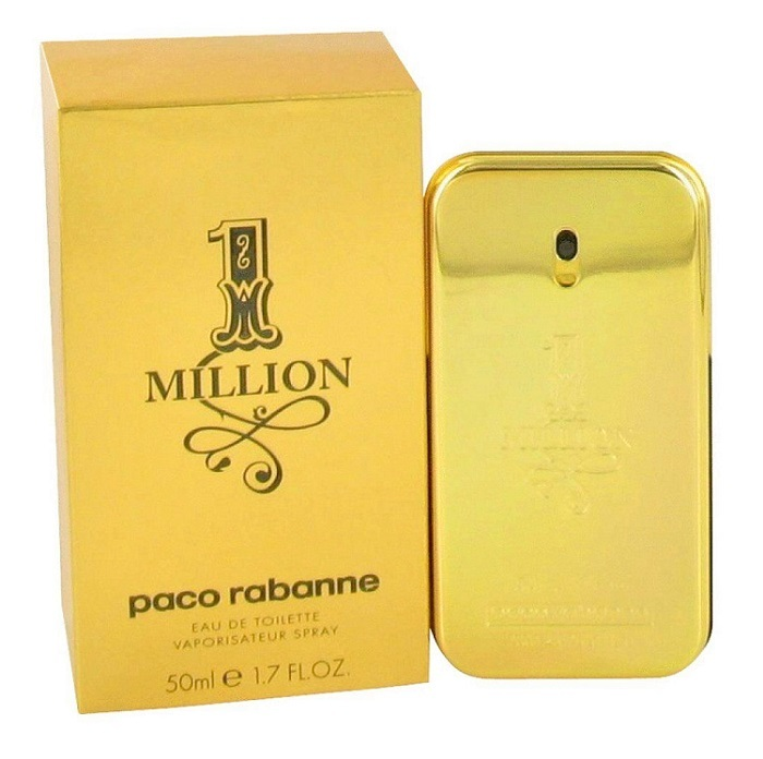 1 Million Cologne by Paco Rabanne 1.7oz Eau De Toilette Spray for men