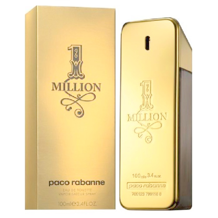 1 Million Cologne by Paco Rabanne 3.4oz Eau De Toilette spray for men