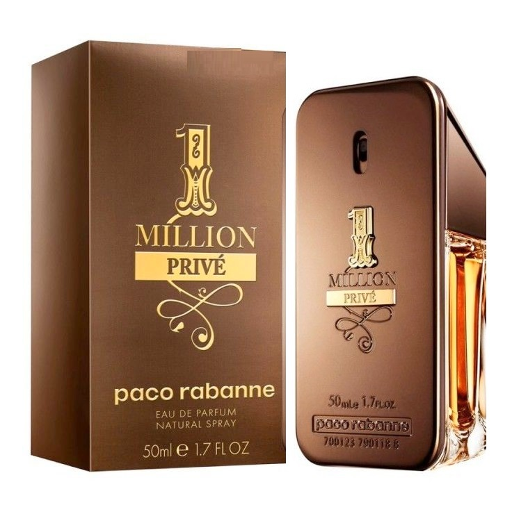 1 Million Prive Cologne by Paco Rabanne 1.7oz Eau De Parfum spray for men