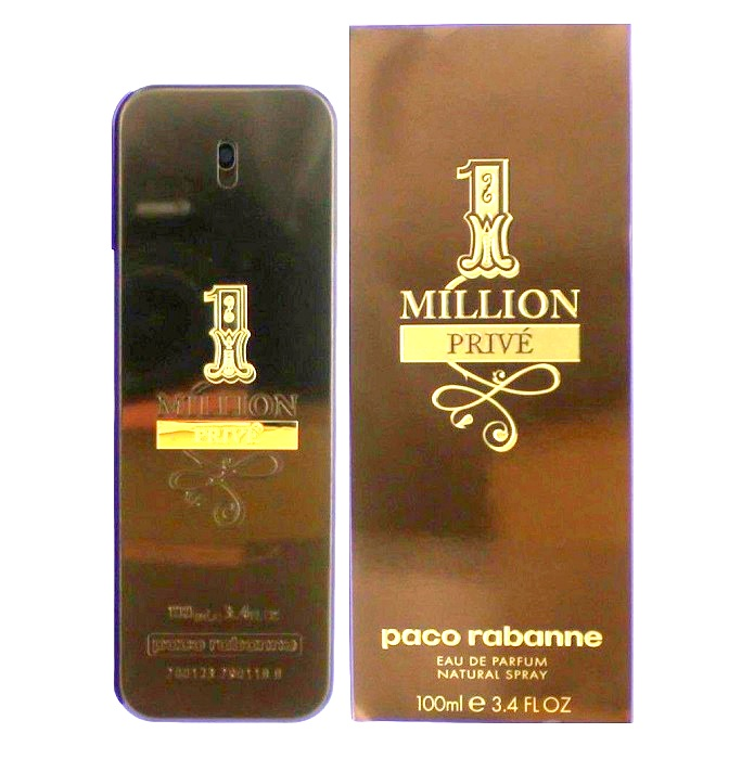 1 Million Prive Cologne by Paco Rabanne 3.4oz Eau De Parfum spray for men