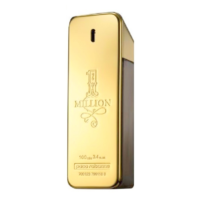 1 Million Tester Cologne by Paco Rabanne 3.4oz Eau De Toilette Spray for men