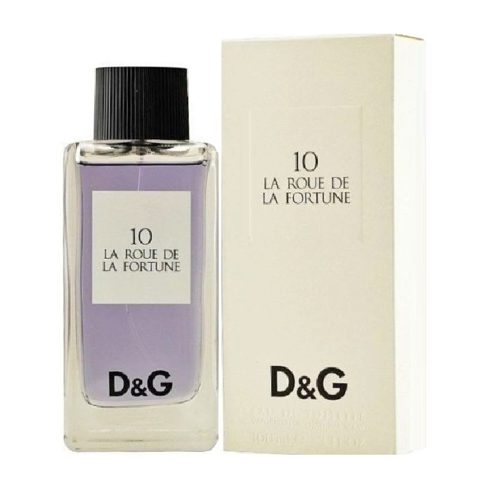 10 La Roue De La Fortune Perfume by Dolce & Gabbana 3.4oz Eau de Toilette spray for Women