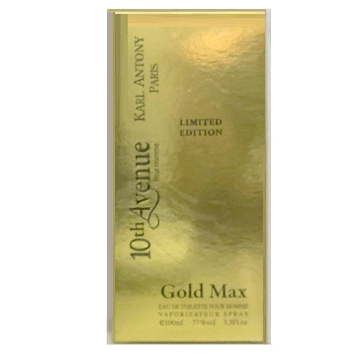 10th Avenue Gold Max Cologne by Karl Anthony 3.3oz Eau De Toilette Spray for men