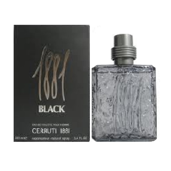 1881 Black Cologne by Nino Cerruti 3.4oz Eau De Toilette spray for Men