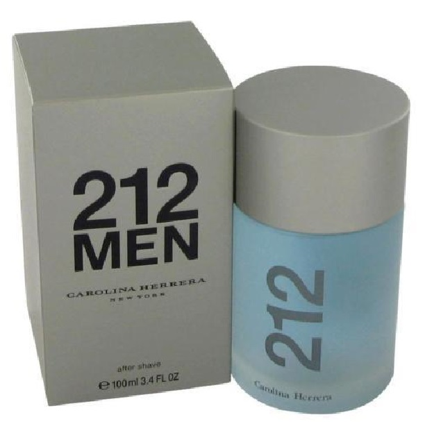212 Carolina Herrera After Shave Lotion (liquid) by Carolina Herrera 3.4oz for Men