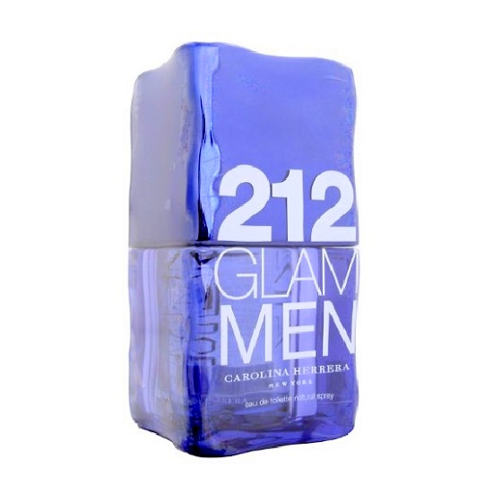 212 Glam Cologne by Carolina Herrera 3.4oz Eau De Toilette spray for Men