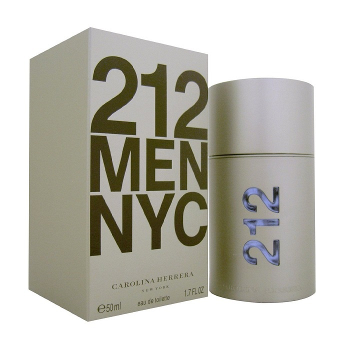 212 Cologne by Carolina Herrera 1.7oz Eau De Toilette spray for Men