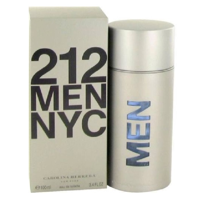 212 Cologne by Carolina Herrera 3.4oz Eau De Toilette spray for Men