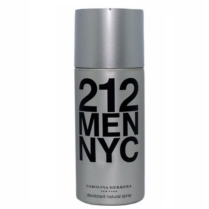 212 Deodorant Spray by Carolina Herrera 5.0oz for men