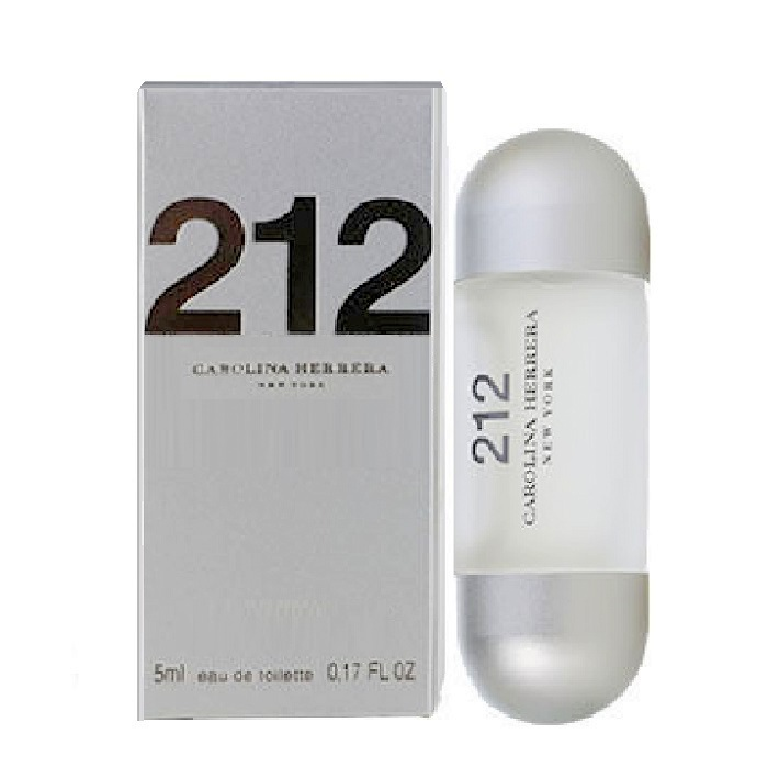 212 Mini Perfume by Carolina Herrera 0.17oz / 5ml Eau De Toilette for women
