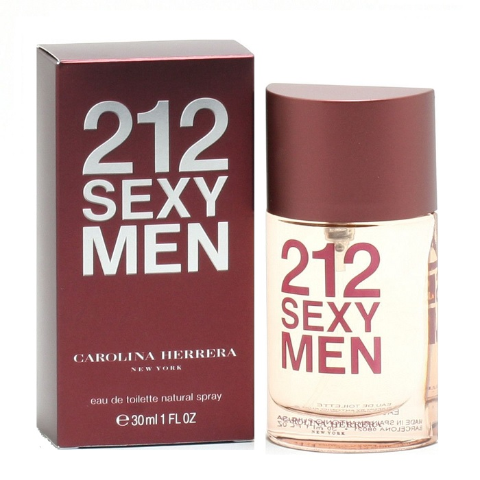 212 Sexy Cologne by Carolina Herrera 1.0oz Eau De Toilette spray for men