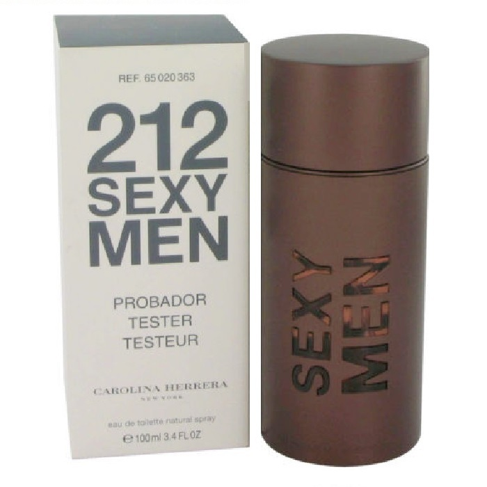 212 Sexy Tester Cologne by Carolina Herrera 3.4oz Eau De Toilette spray for men