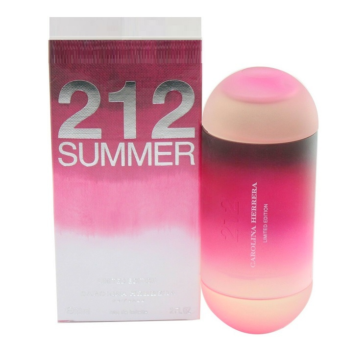 212 Summer Perfume by Carolina Herrera 2.0oz Eau De Toilette Spray for women