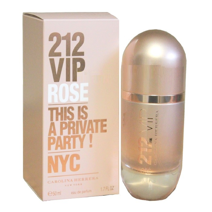 212 VIP Rose Perfume by Carolina Herrera 1.7oz Eau De Parfum spray for Women