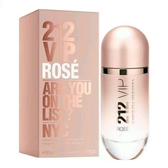 212 VIP Rose Perfume by Carolina Herrera 2.7oz Eau De Parfum spray for Women
