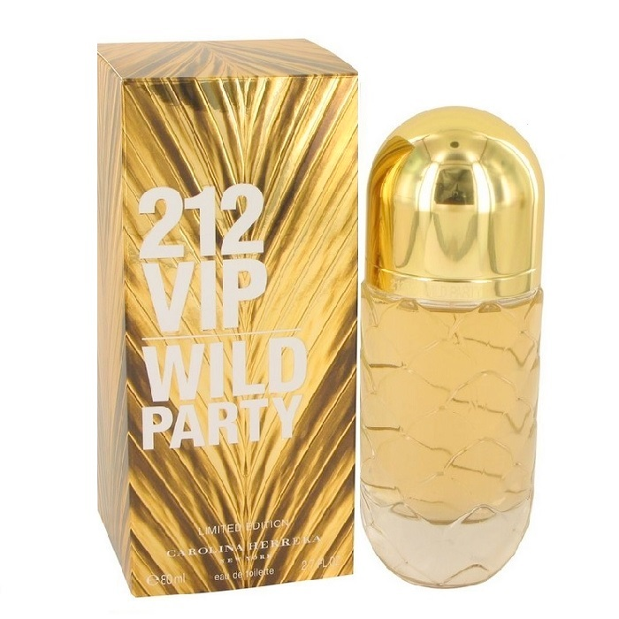 212 VIP Wild Party Perfume by Carolina Herrera 2.7oz Eau De Toilette spray for women