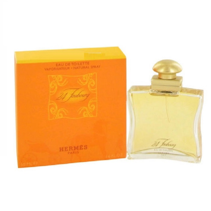 24 Faubourg Perfume by Hermes 1.6oz Eau De Toilette Spray for women