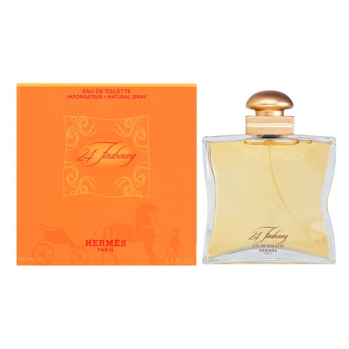 24 Faubourg Perfume by Hermes 3.3oz Eau De Toilette spray for women