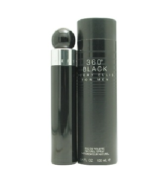 360 Black Cologne by Perry Ellis 3.4oz Eau De Toilette spray for Men