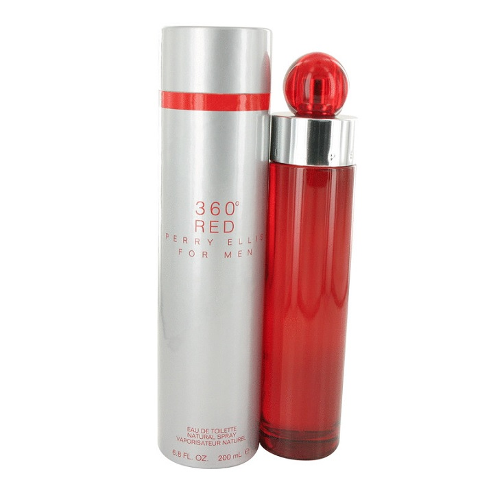 360 Red Cologne by Perry Ellis 6.8oz Eau De Toilette spray for men