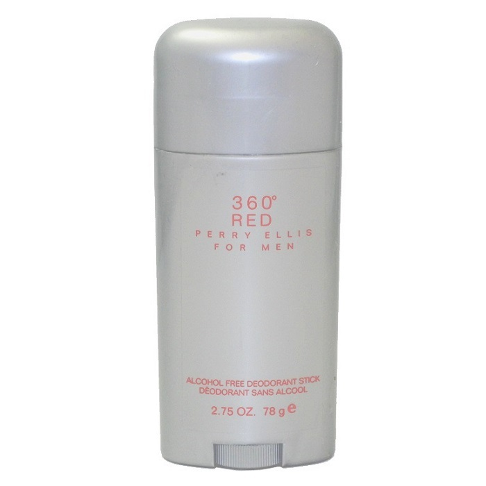 Perry Ellis 360 Red Deodorant Stick by Perry Ellis 2.75oz for men