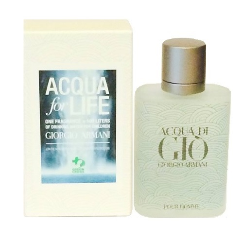 Acqua Di Gio Acqu For Life Cologne by Giorgio Armani 1.7oz Eau De Toilette spray for Men